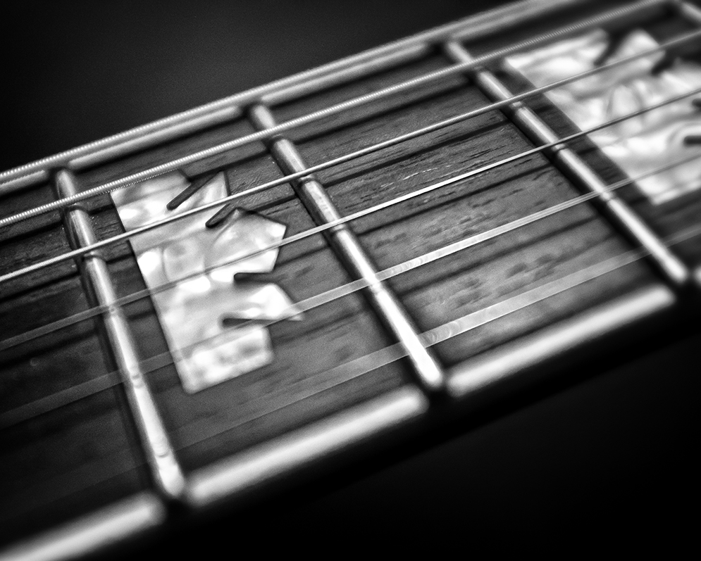 Guitar Neck Closeup
