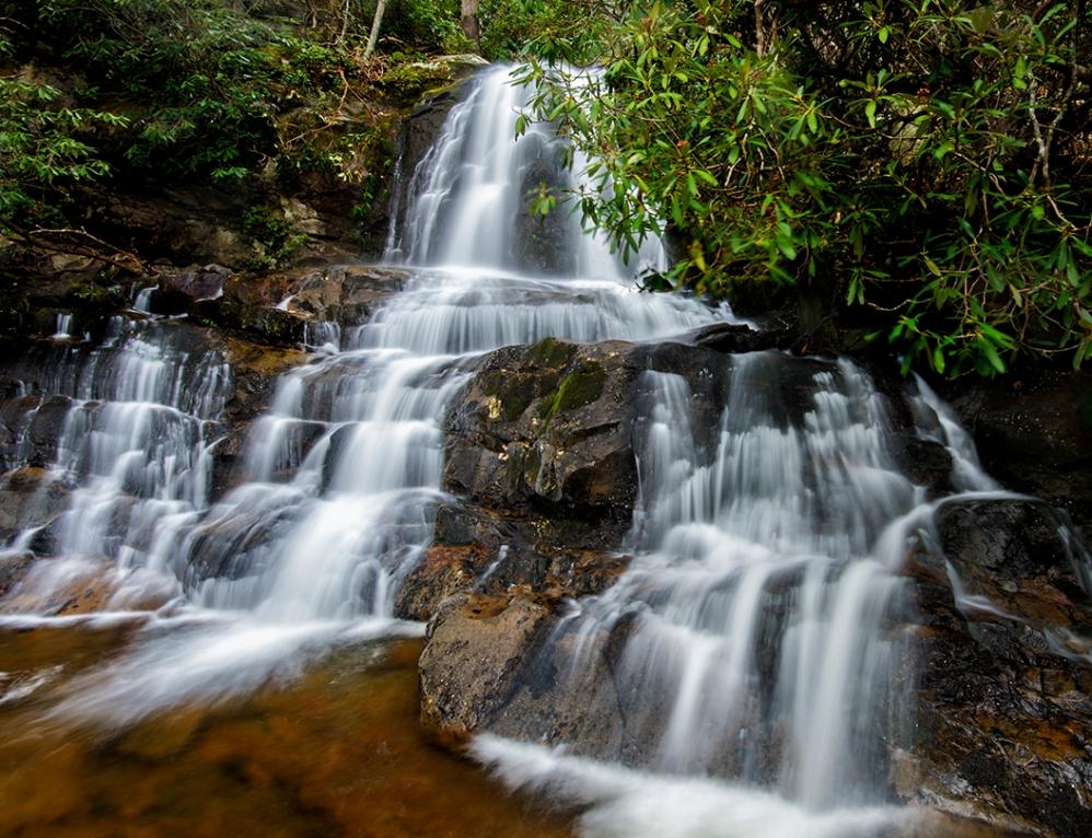 Upper Laurel Falls, Great Smoky Mountains National Park