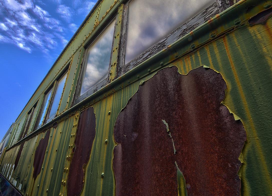 Old Train Car