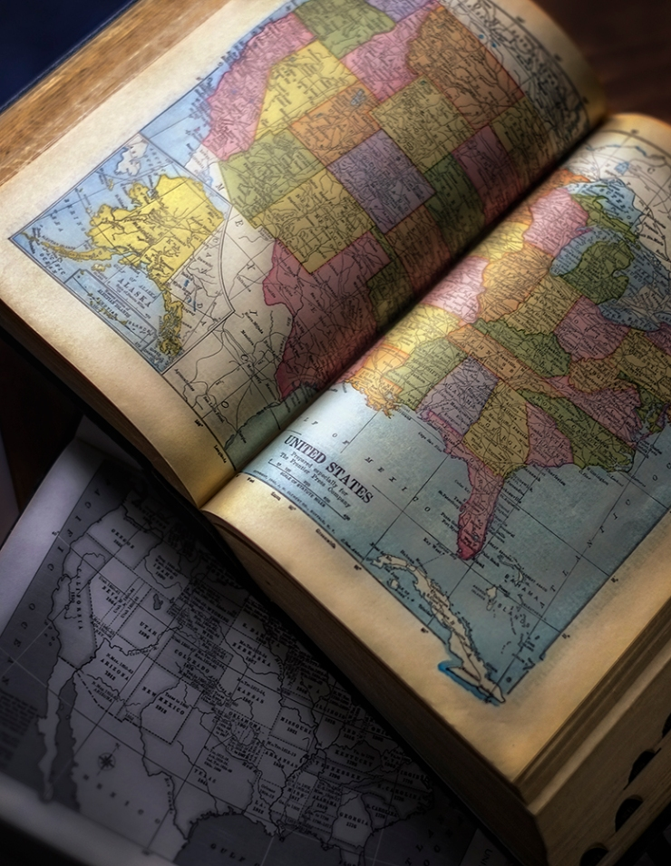 American Map Books
