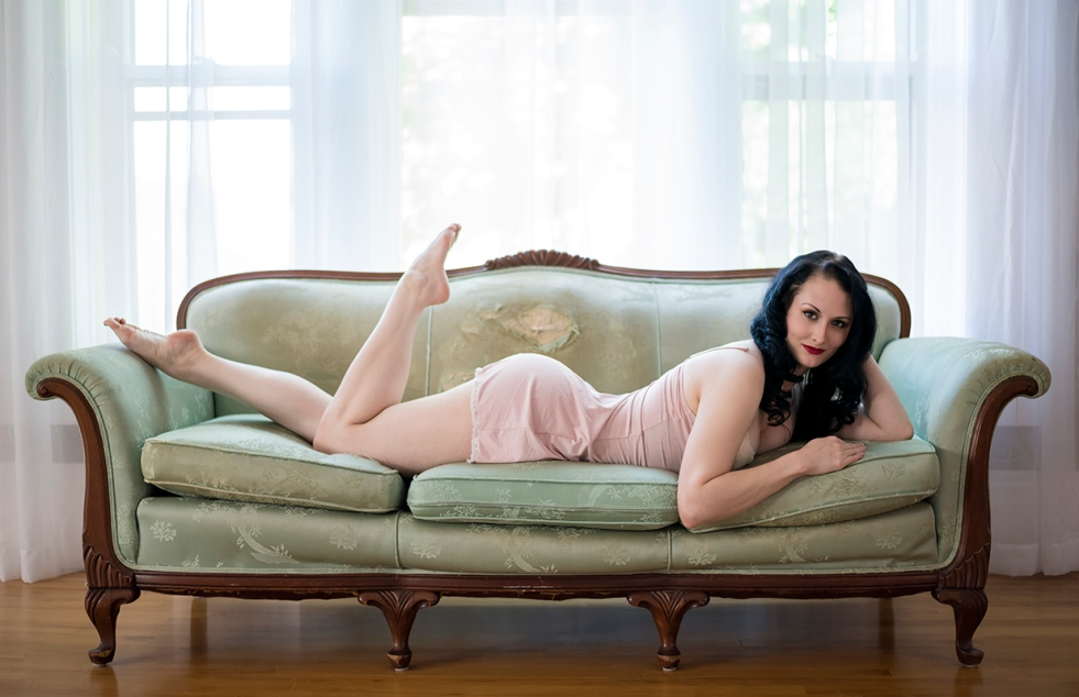 Bethany Green Couch